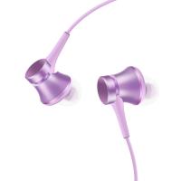 小米活塞耳機 清新版 紫色