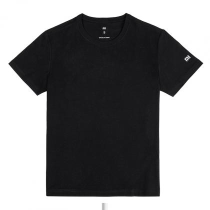 Mi Crewneck T-shirt Black - Apparel & Bags - Mi India