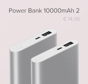 10000mAh Mi Power Bank 2