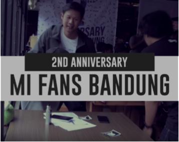 2nd Anniversary Mi Fans Bandung