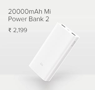 20000mAh Mi Power Bank 2 White