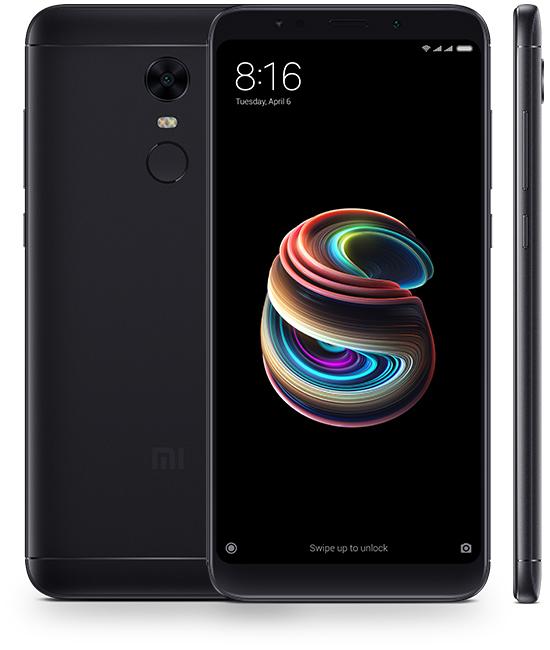 sp black - Xiaomi Redmi 5 Plus дисплейный модуль с рамкой (экран + тачскрин + рамка)