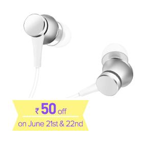 Mi In-Ear Headphones Basic Matte Silver