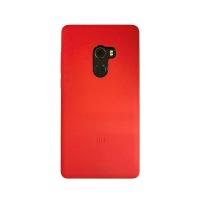 小米MIX 2 矽膠保護套 紅色