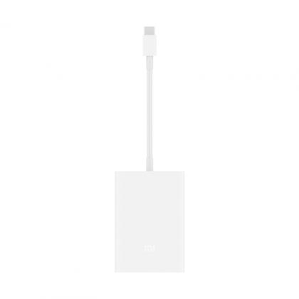USB-C至VGA 千兆網口多功能轉接器