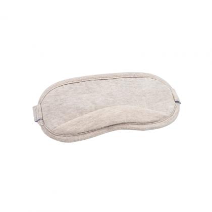 8H涼感眼罩 混米色