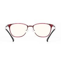TS 防藍光眼鏡 米家定製 紅色