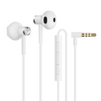 小米雙單元半入耳式耳機 白色