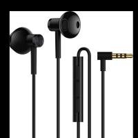小米雙單元半入耳式耳機 黑色