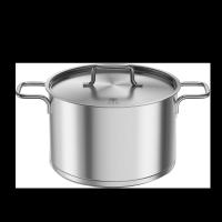 知吾煮不銹鋼湯鍋 銀色