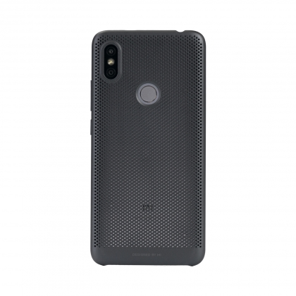 quality design 00445 7ddaf Redmi Y2 Perforated Case Black