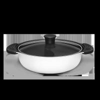 知吾煮鴛鴦鍋 白色