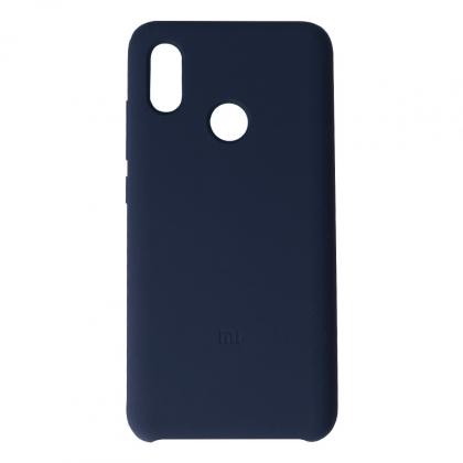 小米8 矽膠保護套 藍色