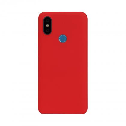 小米A2極簡保護套 紅色