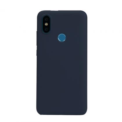 Mi A2極簡保護套 藍色