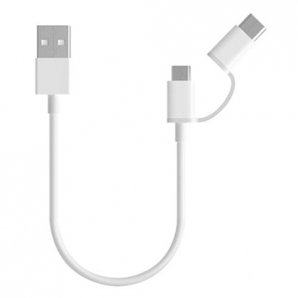Xiaomi Mi 2-in-1 USB Cable (Micro USB to Type C)30 cm