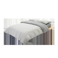8H 天竺棉針織件套 灰色 適用1.8m床