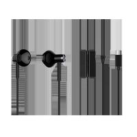 小米雙單元半入耳式耳機Type-C版 黑色