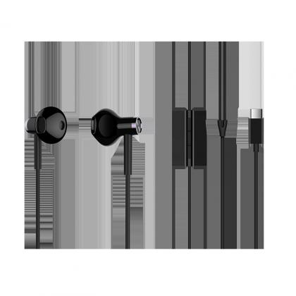 小米雙單元半入耳式耳機 Type-C 版 黑色
