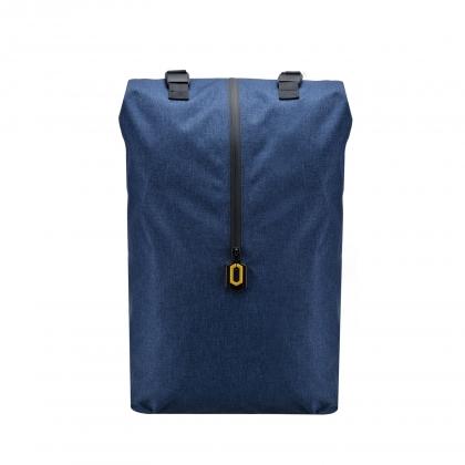 小米戶外休閒雙肩包 藍色