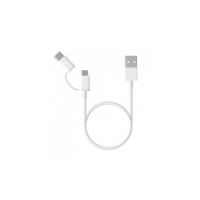 Mi 2-in-1 USB Cable (Micro USB to Type C) 30cm White
