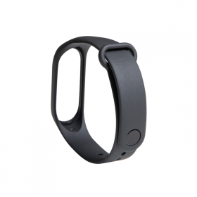 Mi Band 3 Strap (Mi Smart Band 4 Compatible) Graphite Black
