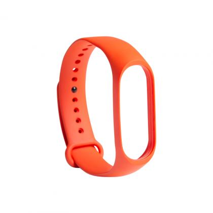 Mi Band 3 Strap (Mi Smart Band 4 Compatible) Electric Orange