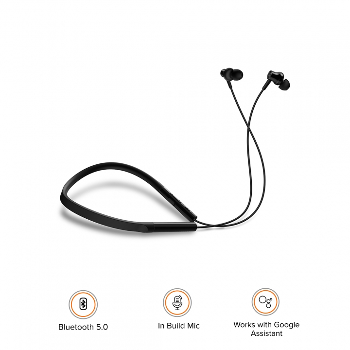 Mi Neckband Bluetooth Earphones]Product Info - Mi India