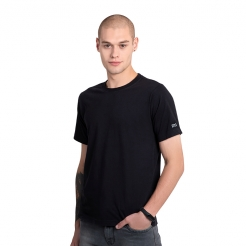 Mi Organic Solid T-Shirt Black