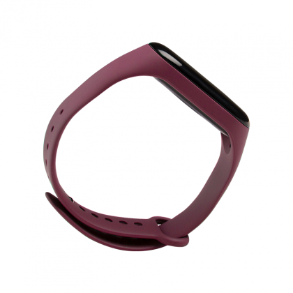Mi Smart Band 4 Strap ( Compatible with Mi Band 3) Wine Red
