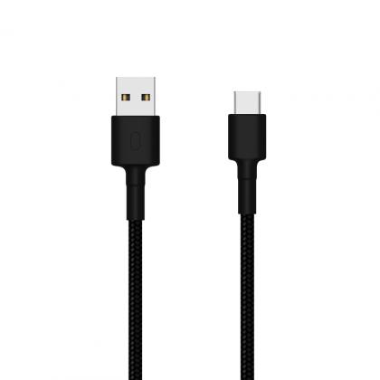 小米 USB-C 傳輸線 編織線版 100cm 黑色