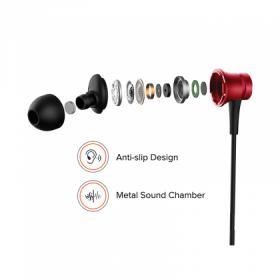 Mi Earphones Basic (with in-built mic) Black.