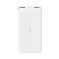 20000mAh Redmi 18W Fast Charge Power Bank White