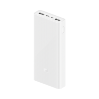 小米可充式鋰行動電源 3 20000 USB-C 雙向快充版 白色