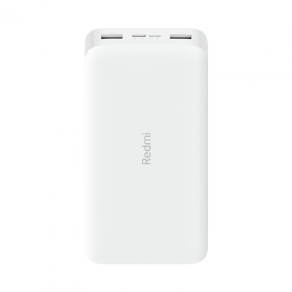 20000 mAh Redmi Fast Charge Power Bank Blanco