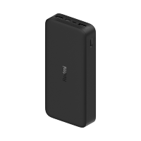 20000mAh Redmi 18W Fast Charge Power Bank Noir