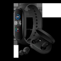 小米手環5+小米藍牙耳機Earbuds 超值版 S套装