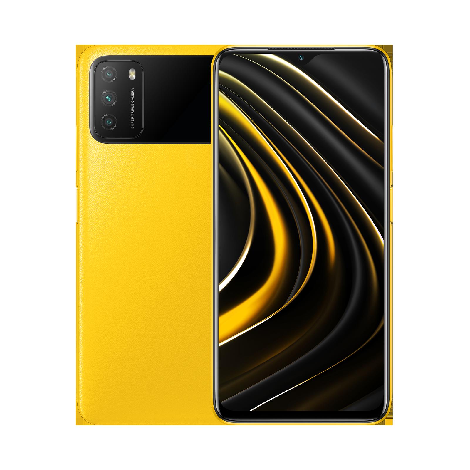 POCO M3 Amarillo POCO 4GB+128GB