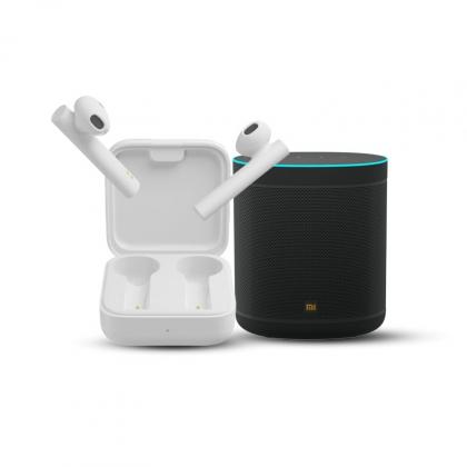 Mi Wifi Smart Speaker + Mi True Wireless Earphones 2C