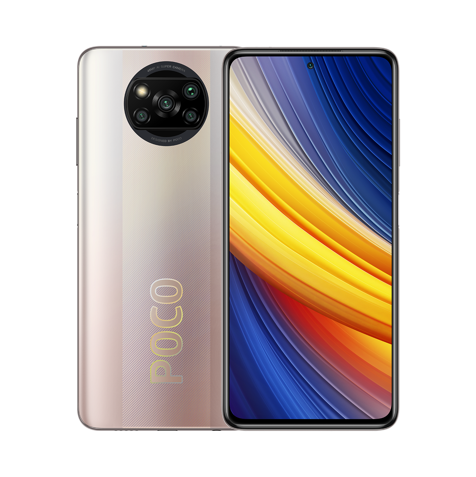 POCO X3 Pro Bronce Metálico 6GB+128GB