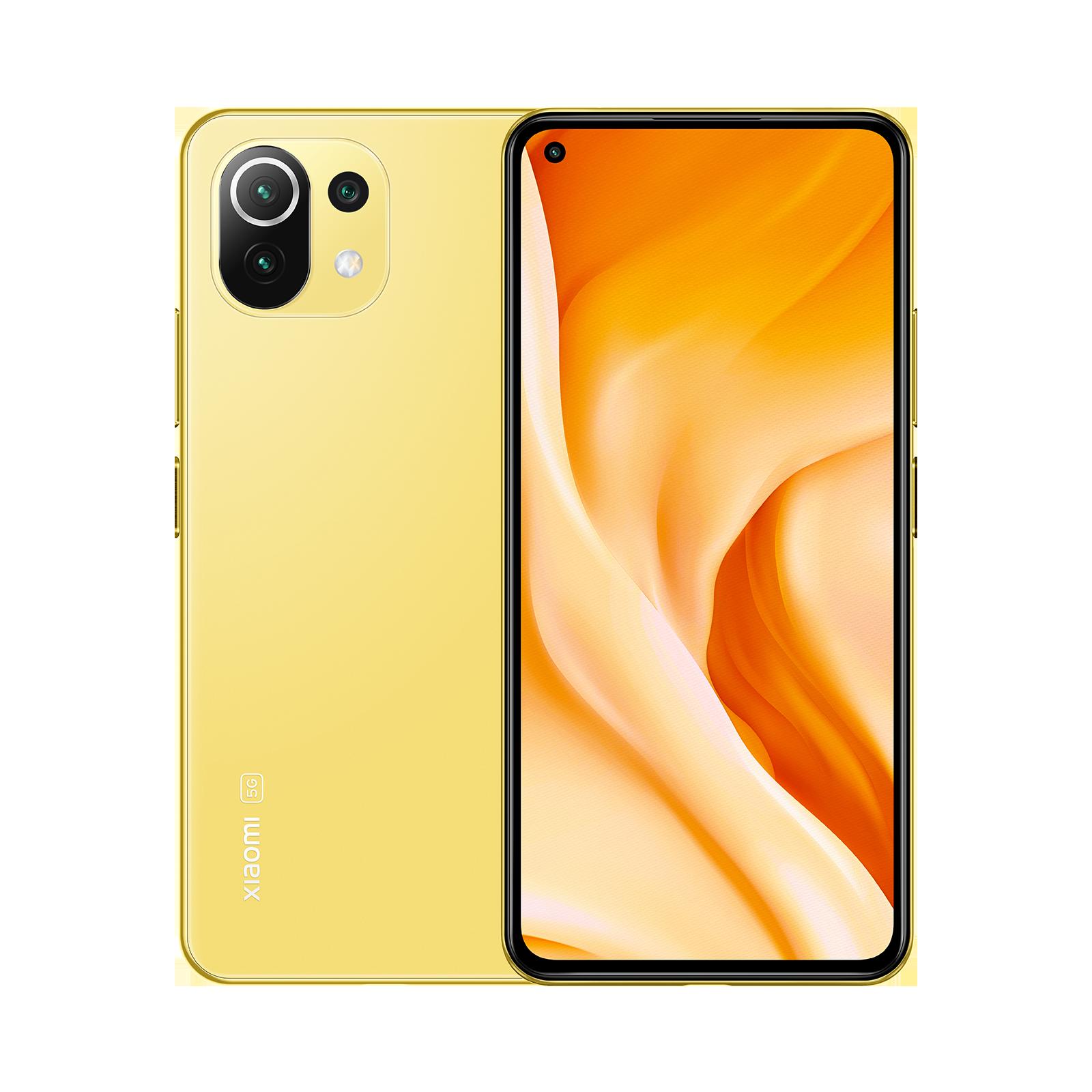 Mi 11 Lite 5G Amarillo Cítrico 8GB+128GB