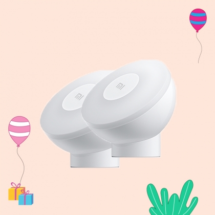 Mi Motion Activated Night Light 2 (Pack of 2)