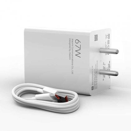 Mi 67W SonicCharge 3.0 Charger Combo