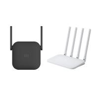 小米路由器 4C+小米 WiFi 訊號延伸器 Pro