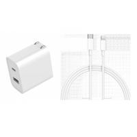 小米 USB 充電器 30W 快充版(Type A+C)+小米Type-C轉Lightning傳輸線(1m)