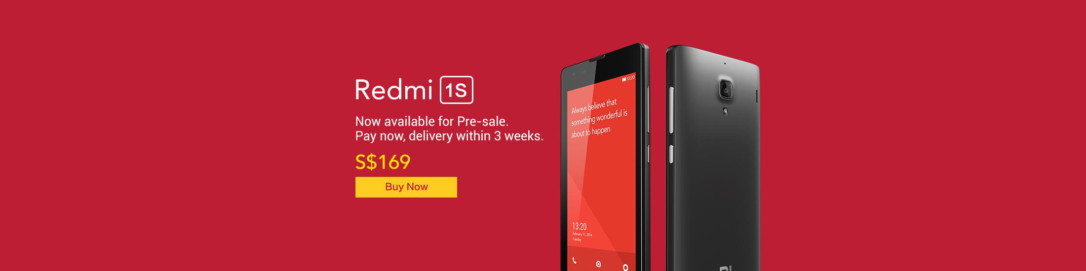 Redmi 1S Pre Sale