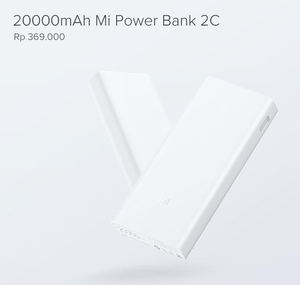 20000mAh Mi Power Bank 2C