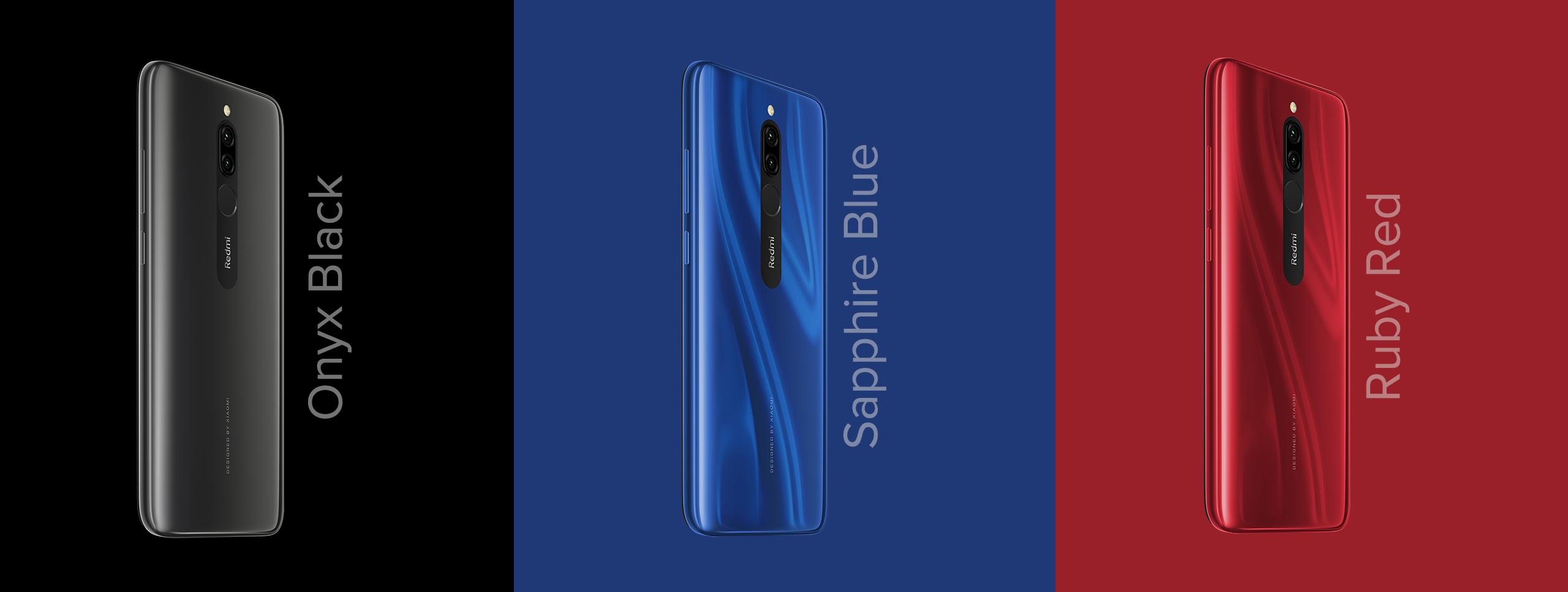 Spesifikasi Xiaomi Redmi 8 RAM 4GB Baterai 5000mAh Android termurah gaming 2019