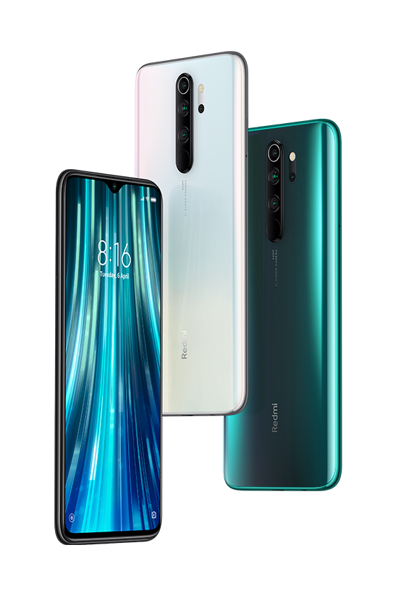 Color options of redmi Note 8 pro
