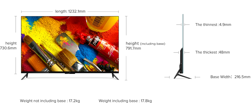 Mi Led Smart Tv 4 Specification Mi India